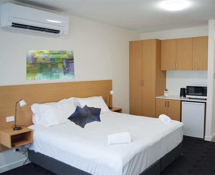 Whittlesea Motel Room